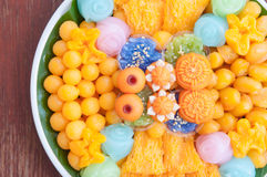 Favorite Thai desserts Stock Images