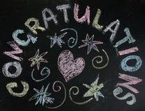 Favorite universal congratulation Royalty Free Stock Photography