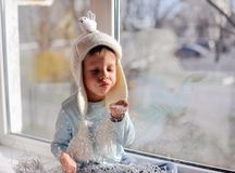 Favorite Window Stock Photo