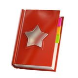 Favorites and address book isolated Royalty Free Stock Photo