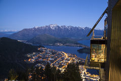 Favorites dining place in Queenstown Stock Images
