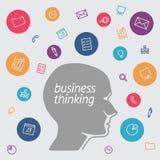 Favorito de analistas e de gestores de projeto do softwarebusiness nos ícones do formulário Imagem de Stock Royalty Free