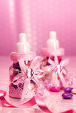 Favors baby, girl Royalty Free Stock Images