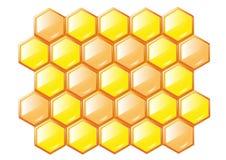 Favos de mel ilustração stock