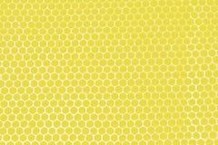 Favos de mel amarelos Foto de Stock