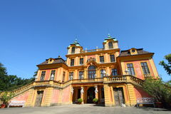 Favourite Palace, Germany. Favourite Palace of Schloss Ludwigsburg, landmark baroque palace in Germany Stock Photography