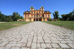 Favourite Palace, Germany. Path leading to Favourite Palace of Schloss Ludwigsburg, Germany Stock Photos