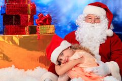 Favourite santa Stock Photography