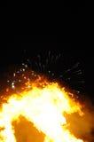 fawkesgrabbnatt Royaltyfri Fotografi