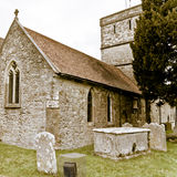 Fawley Church Stock Image