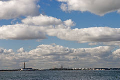 Fawley Oil Refinery Stock Photography