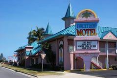 Fawlty Góruje Motel, Kakao Plaża, Floryda Zdjęcia Stock