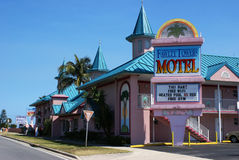 Fawlty Towers Motel, Cocoa Beach, Florida Stock Photos