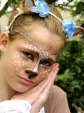Fawn Halloween costume Stock Image
