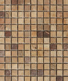 Fawn tone stone mosaic Stock Images