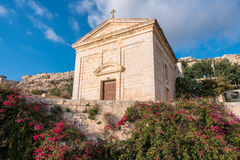 Fawwara in the limits of Siggiewi, Malta. A church in Fawwara in the limits of Siggiewi, Malta Royalty Free Stock Images