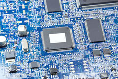 FAX circuit board Stock Image