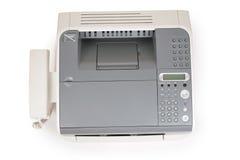 Fax et téléphone à partir de dessus photos libres de droits