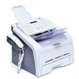 Fax et téléphone images stock