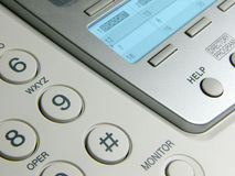 Fax Machine. Close-Up stock images