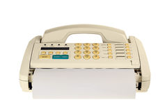 Fax machine royalty free stock images
