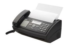 fax machine Royaltyfria Foton