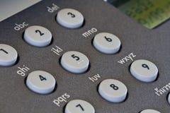 Fax machine keypad Stock Image