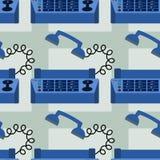 Fax machine seamless background design Stock Photos
