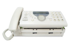Fax machine Stock Image