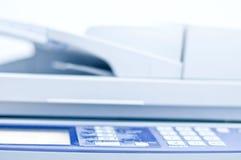 Fax printer. Close-up of Business Colour Printer Royalty Free Stock Photos