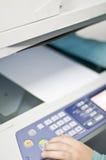 Fax printer Royalty Free Stock Photo