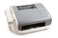 Fax and telephone Royalty Free Stock Photos