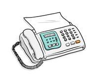 Fax Telephone Stock Image