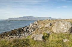 Faxafloi Schacht (Island) Stockfotos