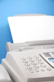 Faxapparaat Royalty-vrije Stock Foto's