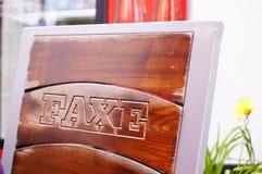 Faxe商标 免版税库存图片