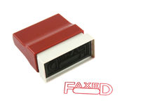 Faxed Stamp Royalty Free Stock Images