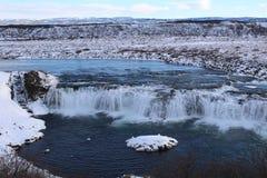 Faxifoss-Wasserfall lizenzfreie stockbilder