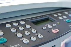 faxmaskin Arkivbild