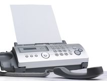 faxmaskin Royaltyfria Bilder