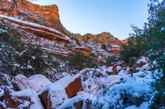 Fay Canyon Trail Stock Photography