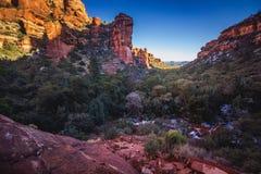 Fay Canyon Vista Stock Images