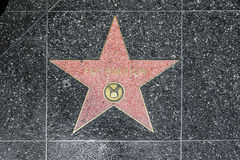 Fay Emerson's star on Hollywood Stock Photo