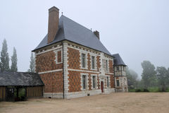 Fay Mansion Yvetot, Normandie, France Photographie stock