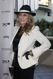 Faye Dunaway. Arriving at the Norman Jewison Tribute at LACMA April 17, 2009 - Los Angeles, California stock image