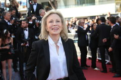 Faye Dunaway. Attends 'The Last Face' Premiere during the 69th annual Cannes Film Festival at the Palais des Festivals on May 20, 2016 in Cannes, France stock images