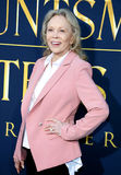 Faye Dunaway. At the Los Angeles premiere of 'The Huntsman: Winter's War' held at the Regency Village Theatre in Westwood, USA on April 11, 2016 royalty free stock photo
