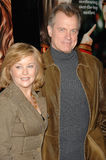Faye Grant,Stephen Collins. STEPHEN COLLINS & wife FAYE GRANT at the world premiere of his new movie Because I Said So at the Arclight Theatre, Hollywood stock images