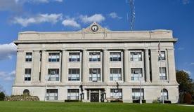 Fayetteville ståndsmässig domstolsbyggnad Arkivfoto
