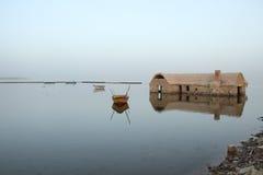 fayoum湖 图库摄影